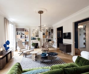 classy, design, and living room image