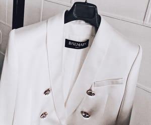 Balmain, blazer, and fashion image