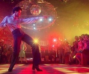 aesthetic, disco, and John Travolta image