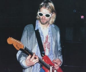 90s, grunge, and kurt cobain image