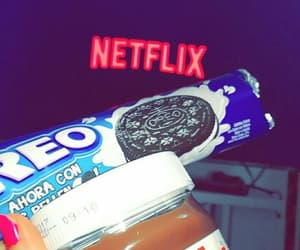 netflix, nutella, and oreo image