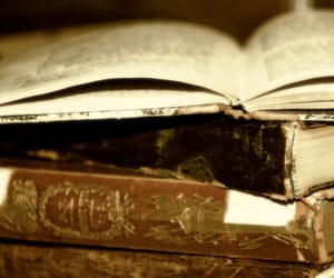 antique, vintage, and books image