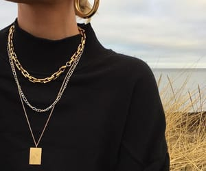 fashion, beauty, and necklace image