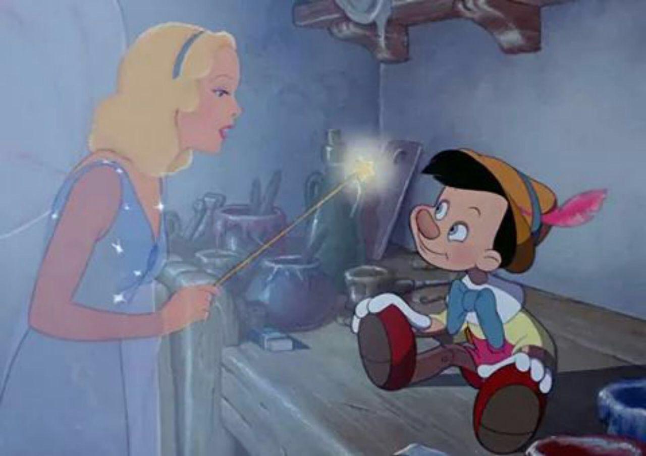 disney, pinocchio, and fairy image