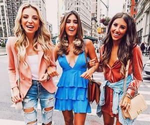 beauty, fashion, and friendship image