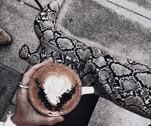 boots, caffeine, and cappuccino image