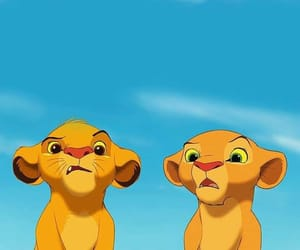 disney, simba, and lion king image