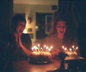 birthday, vintage, and birthday cake image