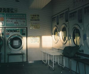japan, 35mm, and laundry image