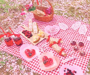 doughnut, kawaii, and picnic image
