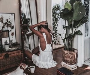 aesthetic, dress, and makeup image