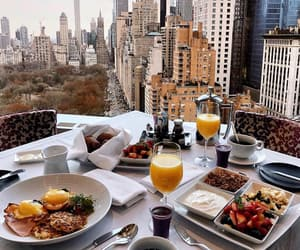 breakfast, food, and delicious image