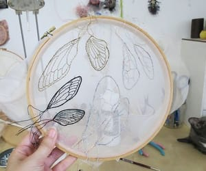 delicate, diy, and embroidery image
