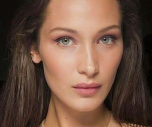 beautiful, model, and natural face image