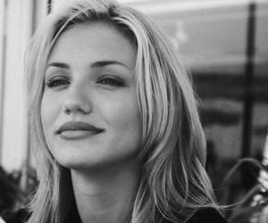 cameron diaz, 90s, and black and white image