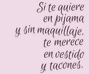 love, frases, and dress image