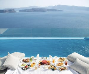 blue, food, and Greece image