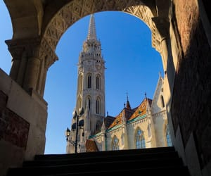 budapest, castle, and hungary image