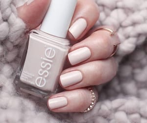 manicure, nude colors, and nails image