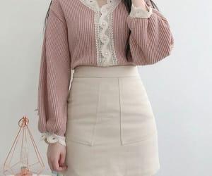 fashion, outfit, and korean fashion image