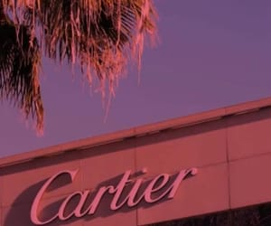 beautiful, cartier, and pink image