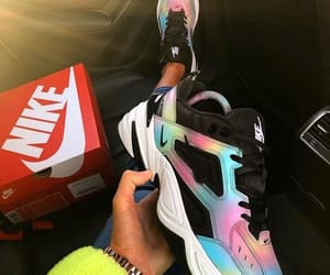 multicolor, nike, and outfit image
