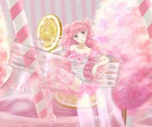 anime, art, and strawberry vinegar image