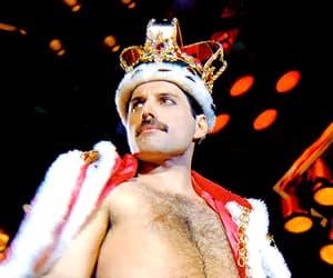 Freddie Mercury, funny, and gif image