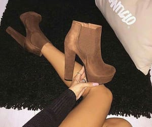 ankleboots, fashion shoes, and shoes lover image