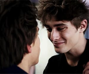 boys, skam, and smile image