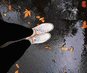 autumn, black, and converse image