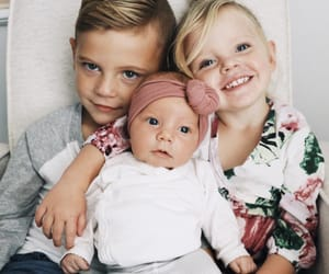 baby, child, and family image