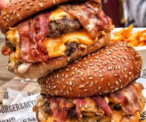 hamburger, cheese, and delicious image