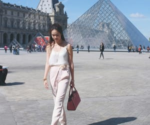 girl power, paris, and louvre museum image