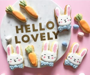 april, bunny, and Cookies image