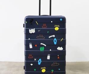 artistic, fashion, and luggage image