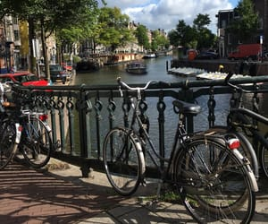 amsterdam, vélo, and cycle image