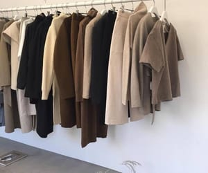 beige, clothes, and brown image