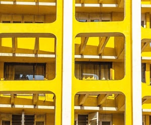 architecture, building, and yellow image