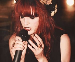 beauty, florence welch, and dark image