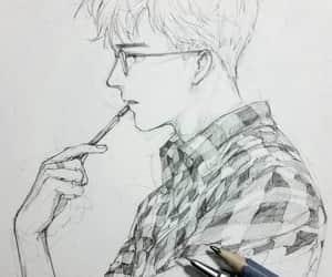 art, creative, and boy image
