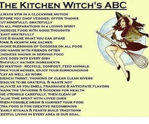 wicca and kitchen witch image