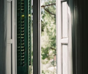 window, vintage, and nature image