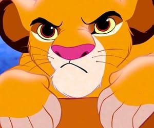 simba, disney, and the lion king image
