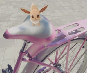 pink, aesthetic, and eevee image