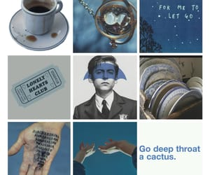 aesthetic, blue, and character image
