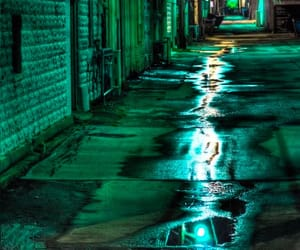 aesthetic, alley, and chrome image