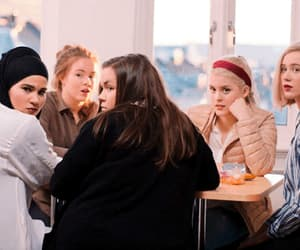 article, girls, and skam nl image