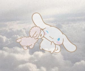 aesthetic, blue, and cinnamoroll image