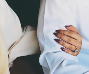 couple, nails, and goals image